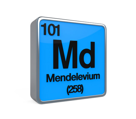 Mendelivium Element Periodic Table photo