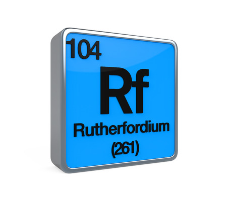 Rutherfordium Element Periodic Table photo
