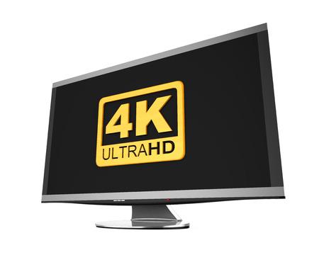 Ultra HD 4K icon photo