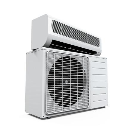 Air Conditioner isoliert Standard-Bild - 33381011