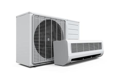 sistema: Acondicionador de aire aislado Foto de archivo