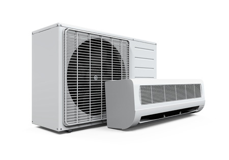 air power: Air Conditioner Isolated