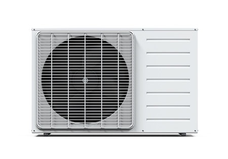 heat pump: Air Conditioner Isolated