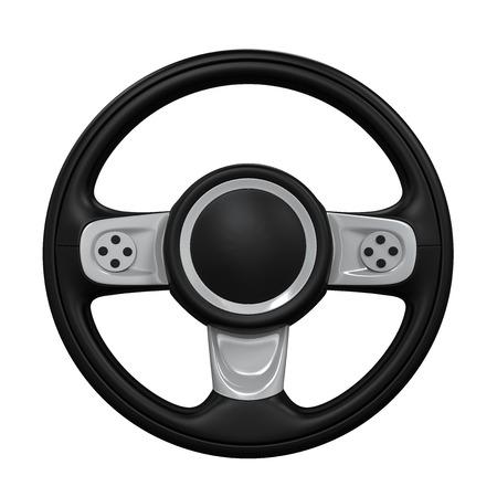 Steering Wheel Isolated