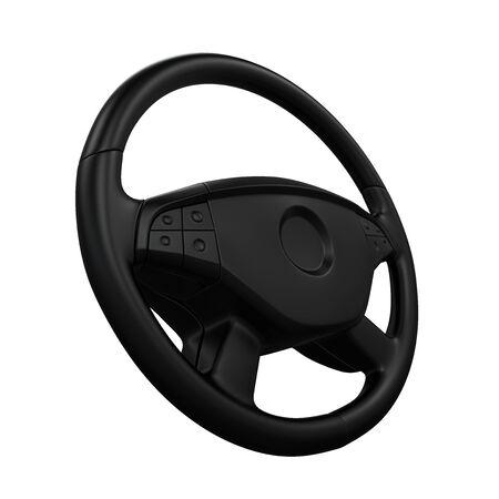 airbag: Steering Wheel Isolated