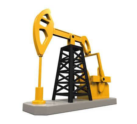 Oil Pump Isolated photo