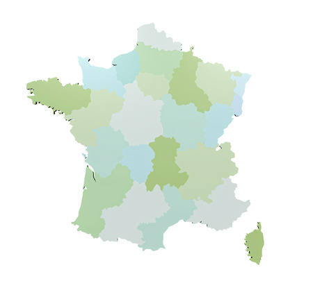 Map of France photo
