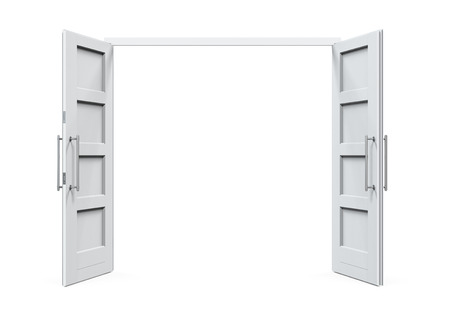 Open Doors Isolated