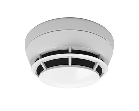 detector: Smoke Detector Isolated