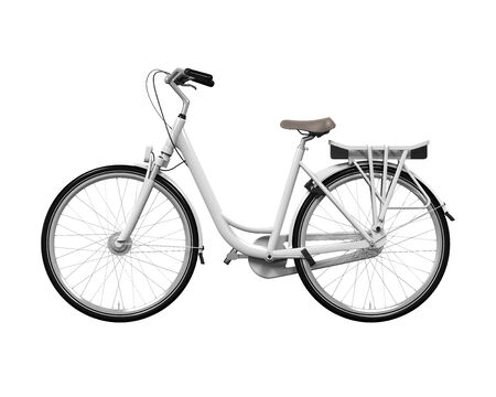 Fiets Isolated
