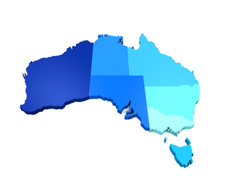 queensland: Map of Australia