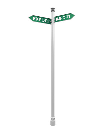 export import: Direction Sign of Export and Import