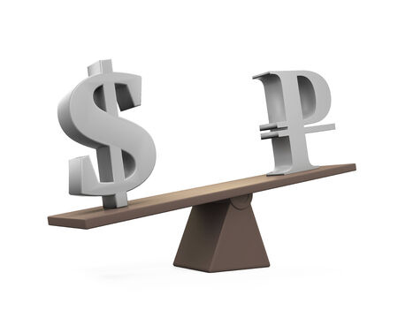 see saw: Dollar and Ruble on Seesaw