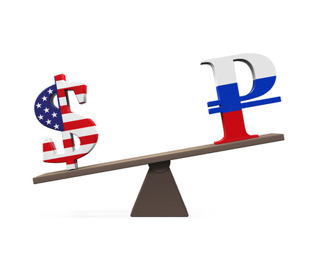 seesaw: Dollar and Ruble on Seesaw