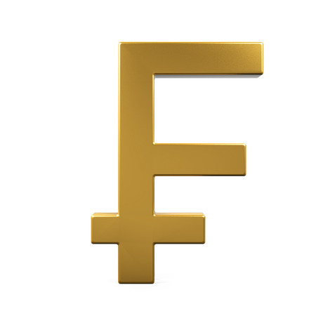 Swiss Franc Symbol Stock Photo Picture And Royalty Free Image