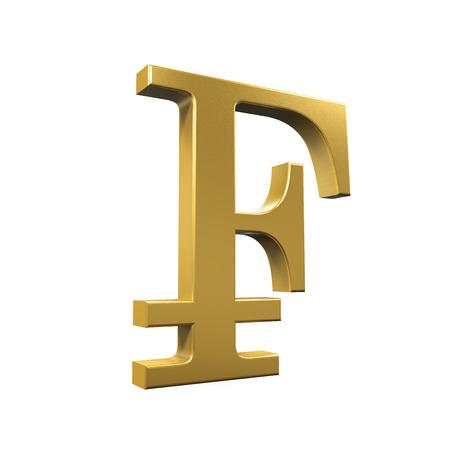 franc: Swiss Franc Symbol
