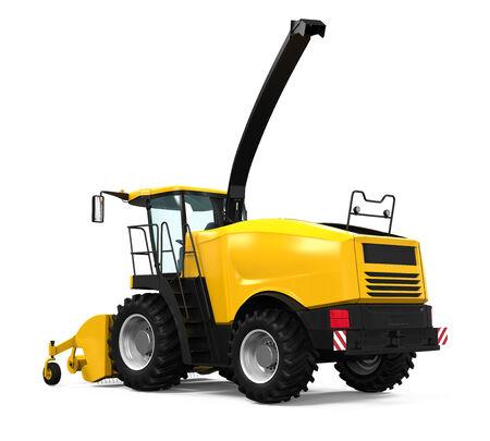 Yellow Forage Harvester photo
