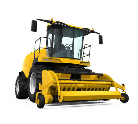 forage: Yellow Forage Harvester