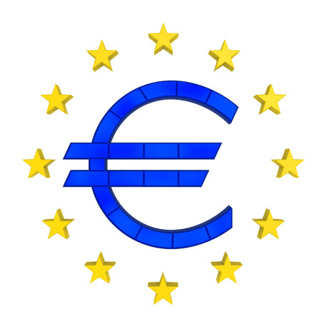european money: European Union Symbol