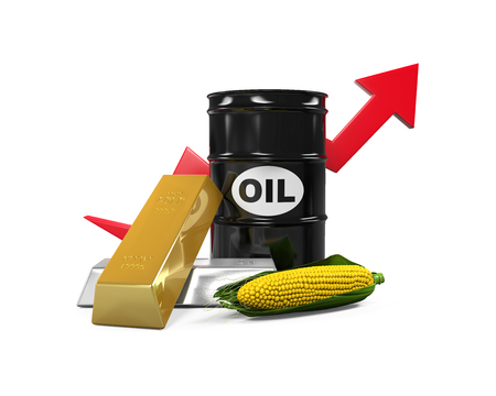 commodities: Commodities - Oil, Corn, Gold and Silver