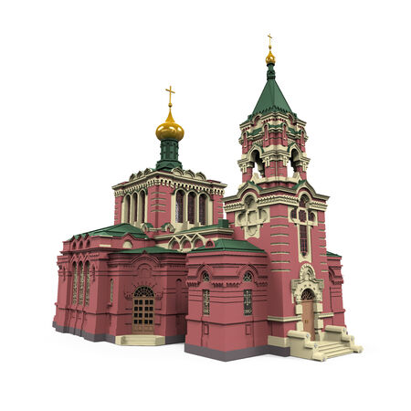 3d temple: Russian Church