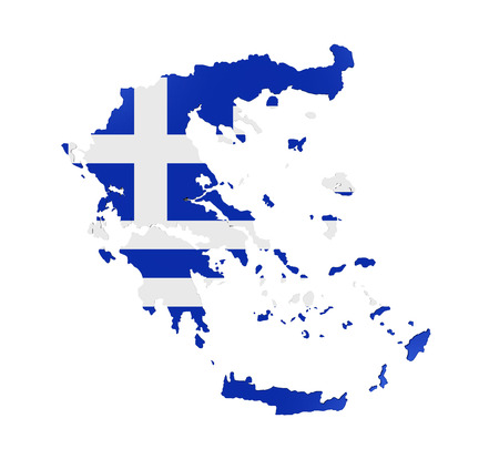 greece map: Greece Map Isolated