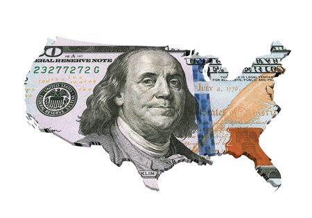 dollaro: US Dollar Mappa