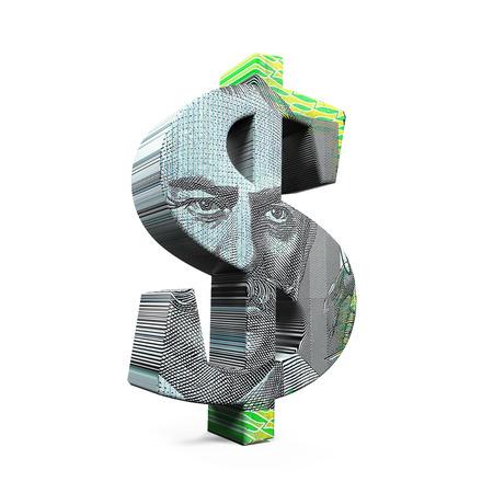 dollar symbol: Australian Dollar Symbol Stock Photo