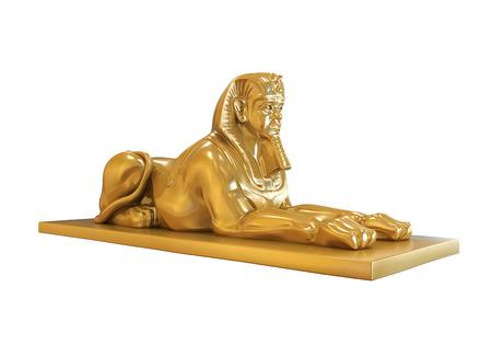 esfinge: Estatua esfinge egipcia