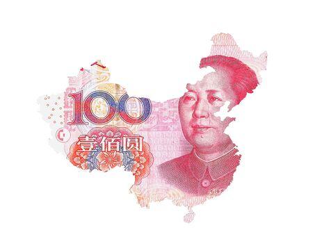 yuan: Chinese Yuan Map