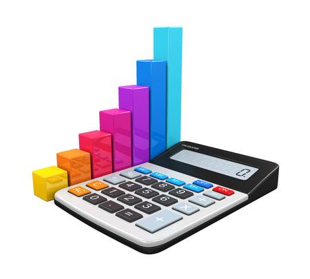 calculator: Calculator with Bar Graph