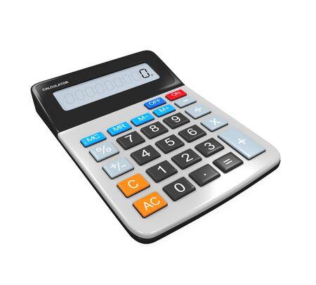 Calculator Isolated photo
