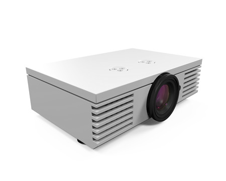 Multimedia Projector Stock Photo