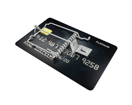 mouse trap: Credit Card Trap