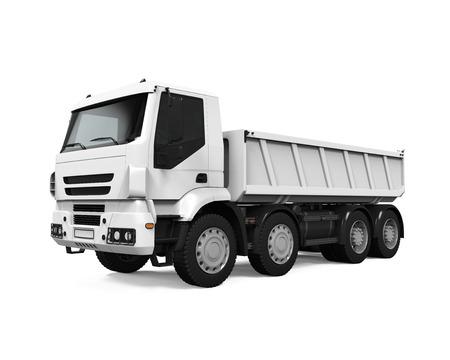 Tipper Dump Truck Zdjęcie Seryjne - 40632279