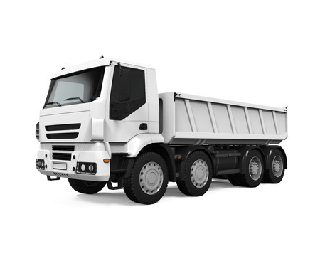 Tipper dumper Stockfoto
