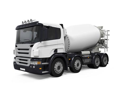 basurero: Camión Hormigonera