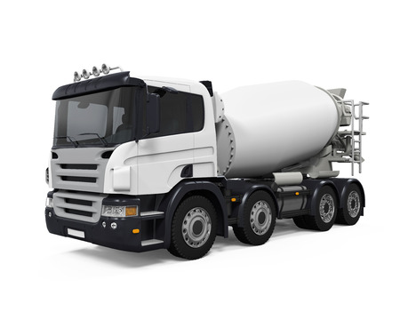 concrete mixer truck: Concrete Mixer Truck