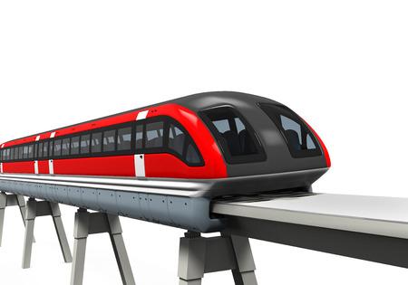 monorail: Monorail Train Stock Photo
