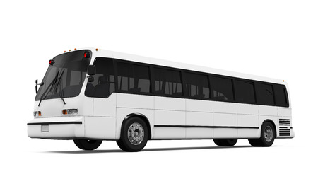 conveyances: City Bus Isolated
