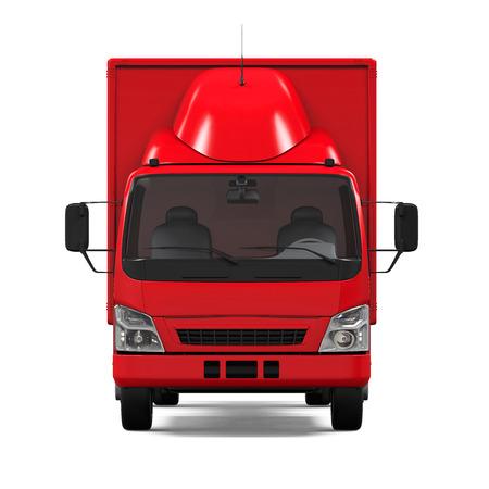 haulage: Red Delivery Van