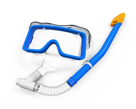 swimming goggles: Snorkel Equipment