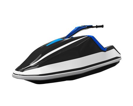 moto acuatica: Jet Ski aislada