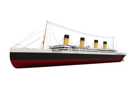 ocean liner: Vintage Ocean Liner