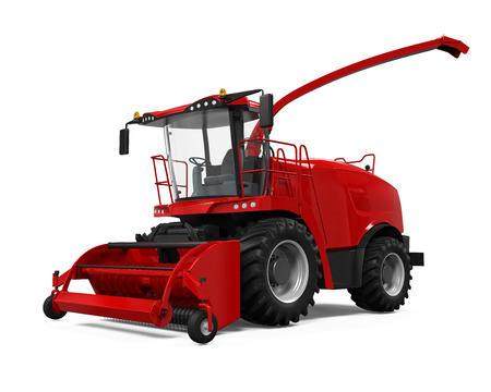 harvester: Red Forage Harvester