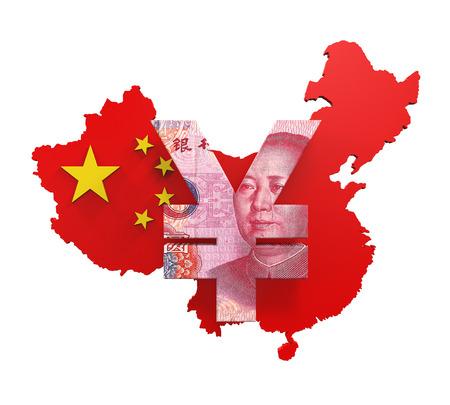 china business: Chinese Yuan Symbol