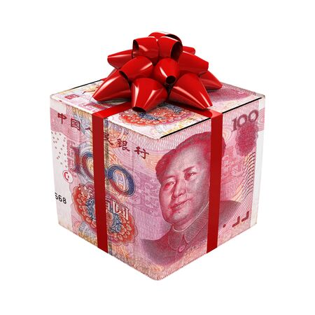 yuan: Chinese Yuan Money Gift Box