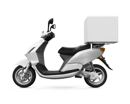 motor transport: Motorcycle Delivery Box