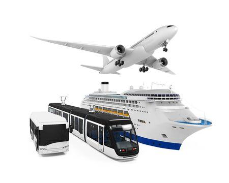 Voyage Transportation Group Banque d'images