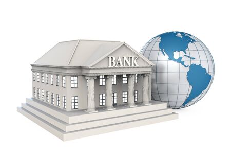 banking and finance: Bank Building and Globe